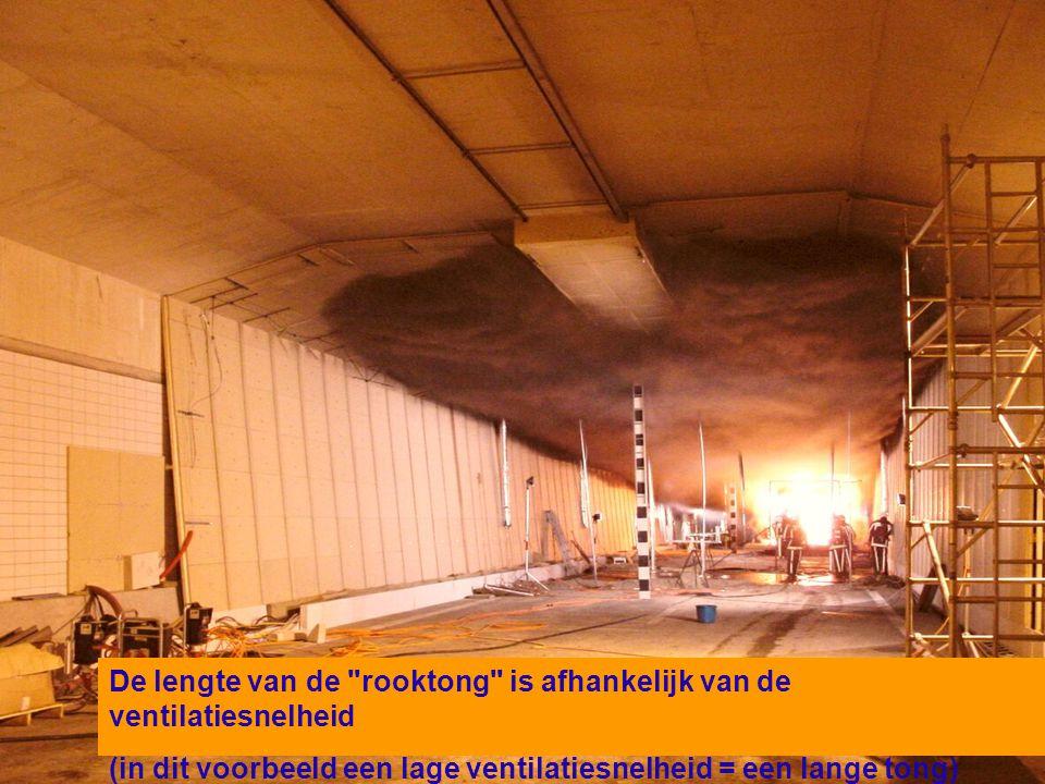 1505-07-2004 De lengte van de rooktong is afhankelijk van de ventilatiesnelheid (in dit voorbeeld een lage ventilatiesnelheid = een lange tong)