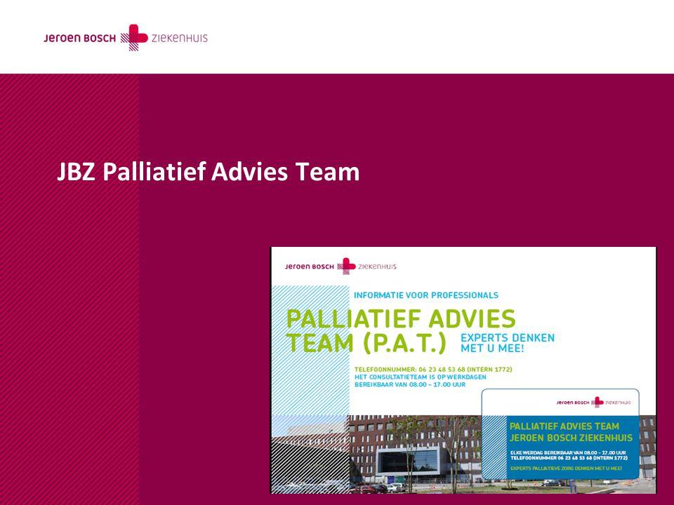 JBZ Palliatief Advies Team