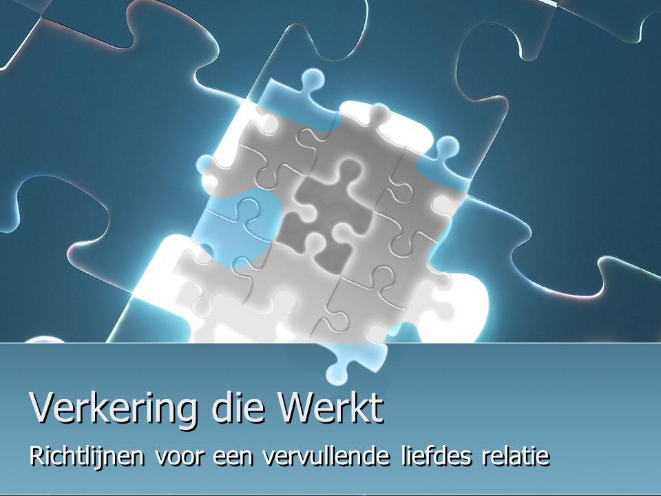 Jeugd Eindhoven 10-12 nov '06 Verkering dat Werkt 4 puzzelstukjes rondom het mysterie; 1.