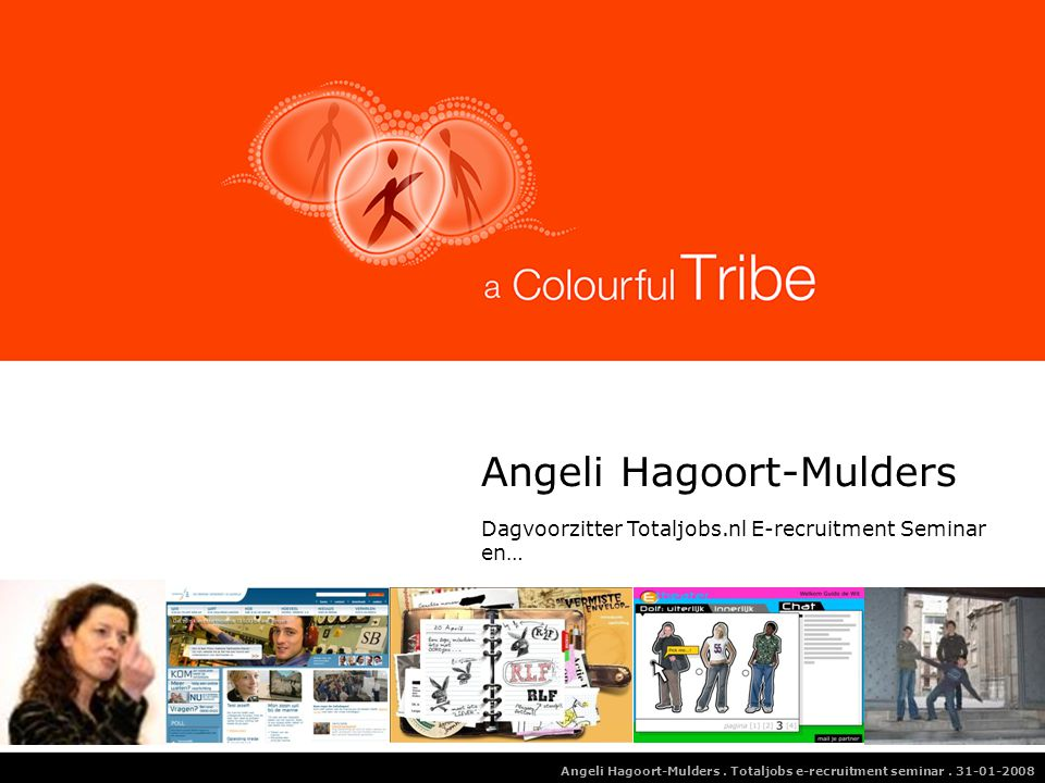 Angeli Hagoort-Mulders.Totaljobs e-recruitment seminar.