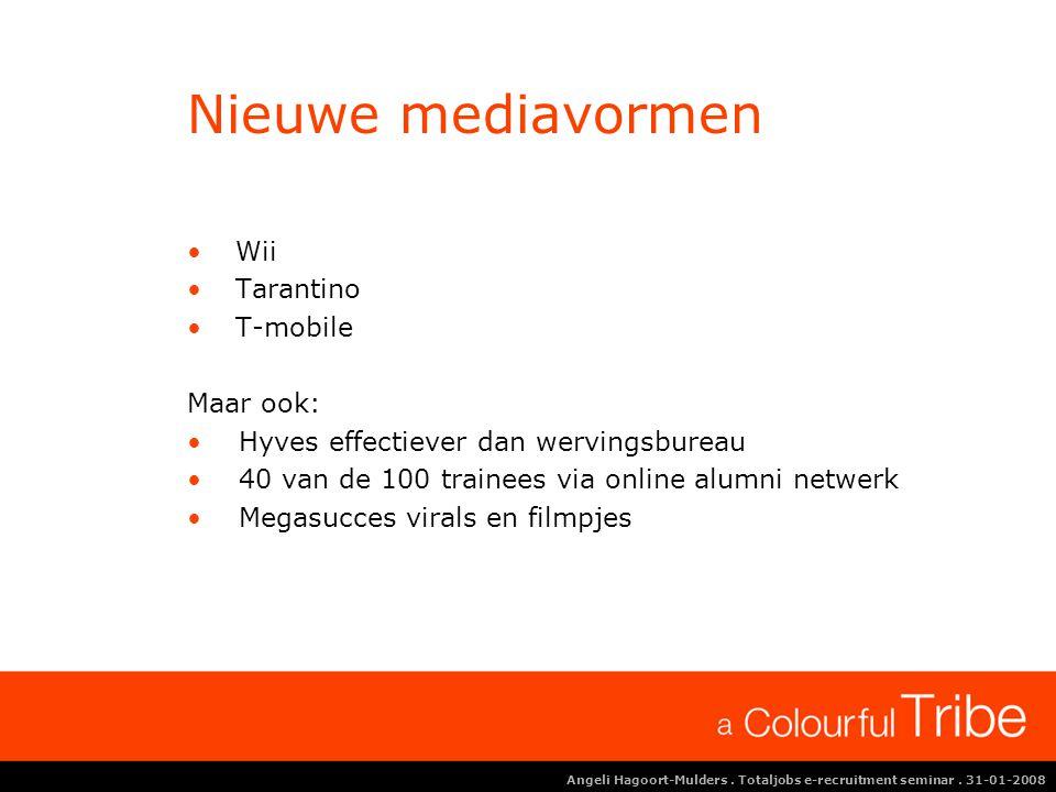 Angeli Hagoort-Mulders.Totaljobs e-recruitment seminar.