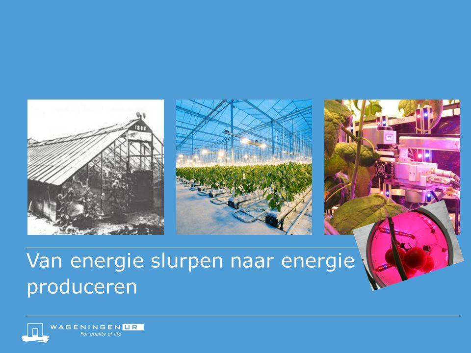 Van energie slurpen naar energie produceren