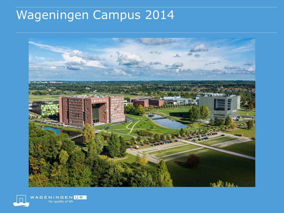 Wageningen Campus 2014