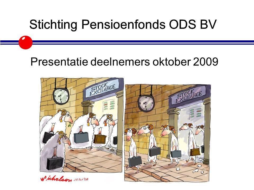Stichting Pensioenfonds ODS BV Presentatie 2009 Presentatie deelnemers oktober 2009 Stichting Pensioenfonds ODS BV