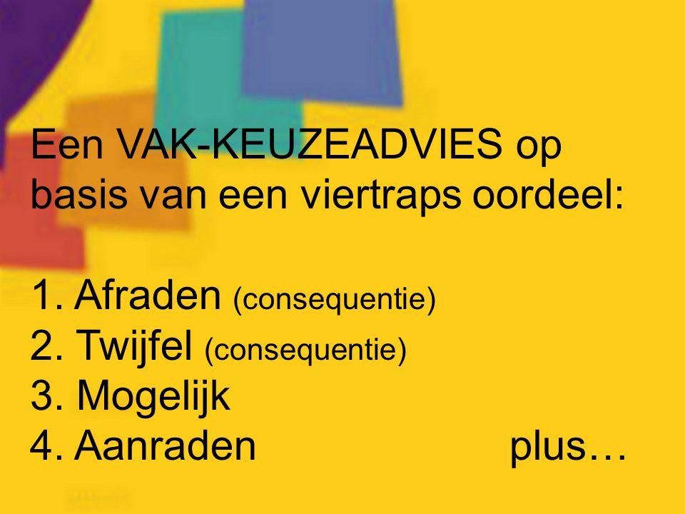 www.studiekeuze123.nl Raadpleeg voor profieleisen: