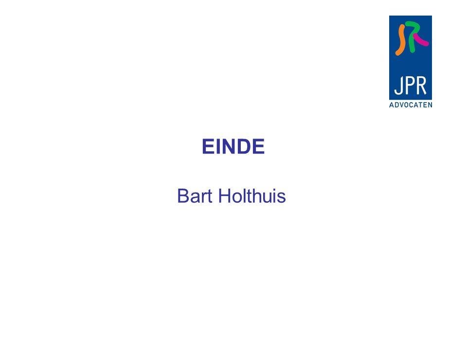 Bart Holthuis EINDE