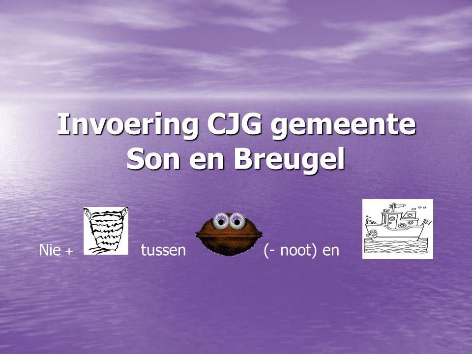 Invoering CJG gemeente Son en Breugel Nie + tussen (- noot) en