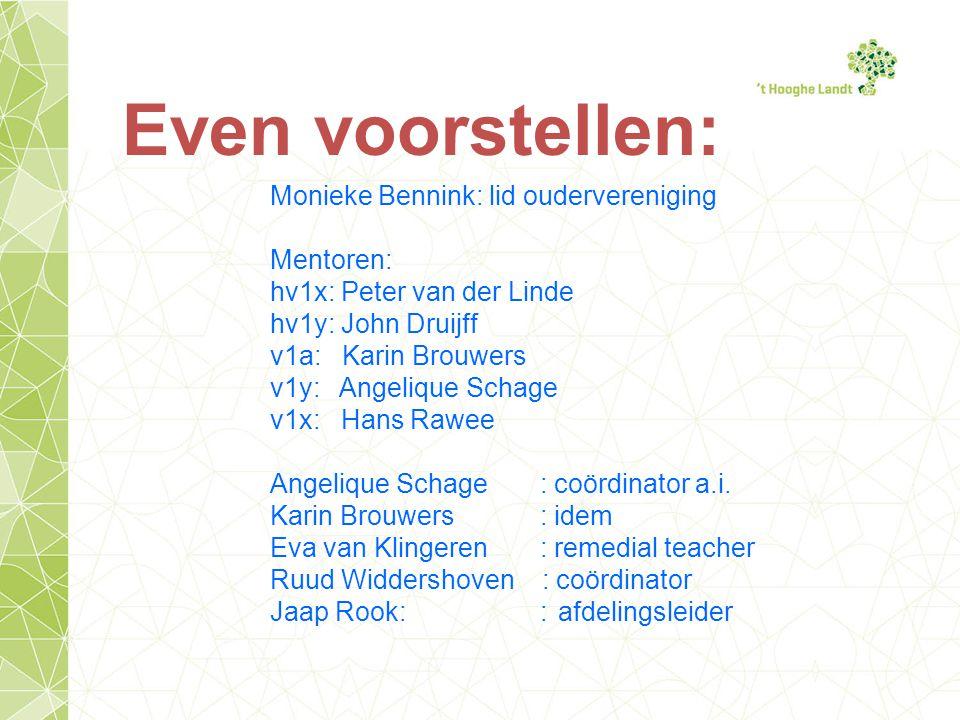 Ook op de website Via de buttons: OnderwijsOudersOudervereniging