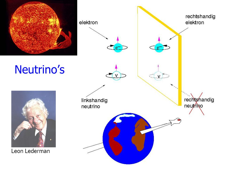 Neutrino's Leon Lederman