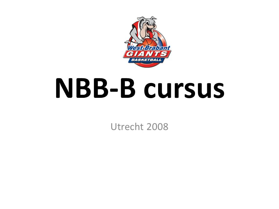 NBB-B cursus Utrecht 2008