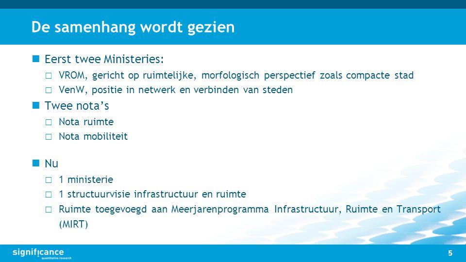 Indicatoren bereikbaarheid netwerk 16
