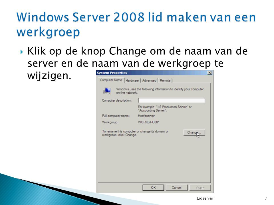  selecteer Turn on sharing so anyone with network access can open, change and create files.