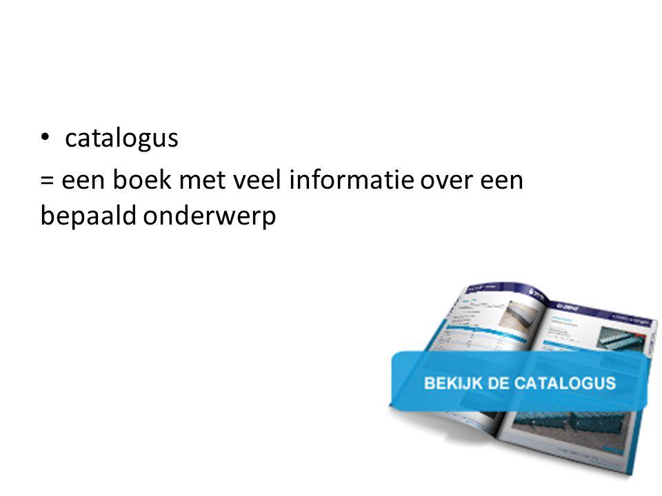 = een boek met veel informatie over een bepaald onderwerp