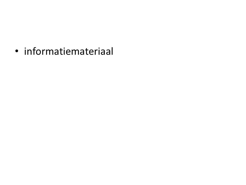 informatiemateriaal
