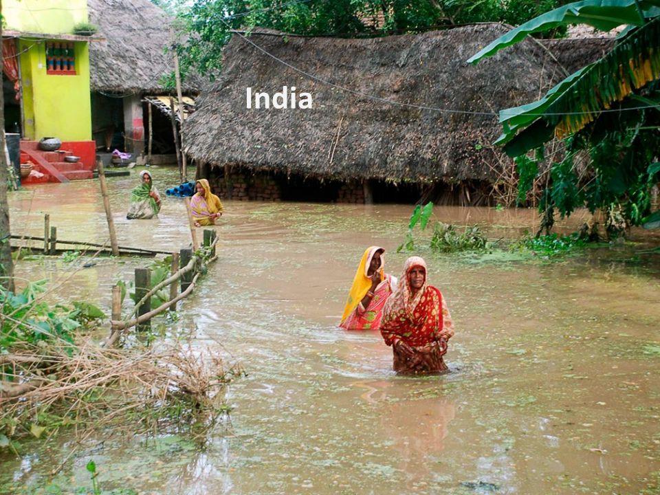 Schade door overstroming
