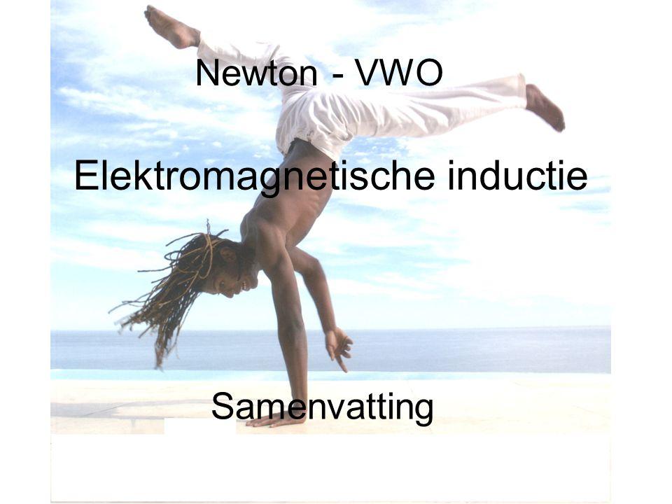 Newton - VWO Elektromagnetische inductie Samenvatting