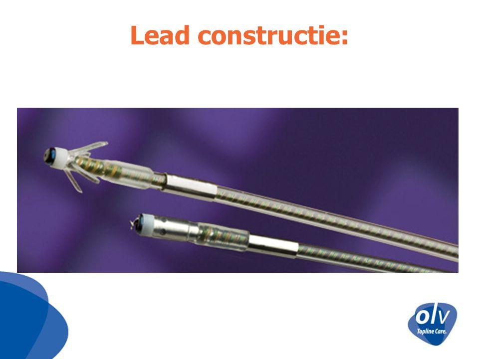 Lead constructie: