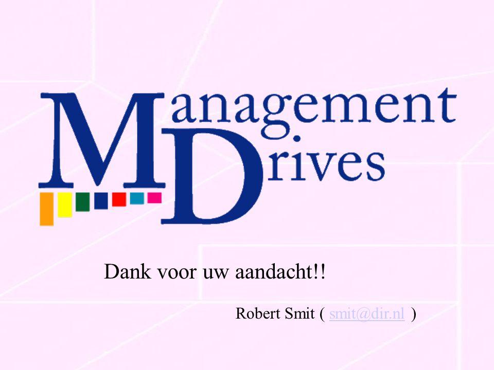 Robert Smit ( smit@dir.nl )smit@dir.nl Dank voor uw aandacht!!