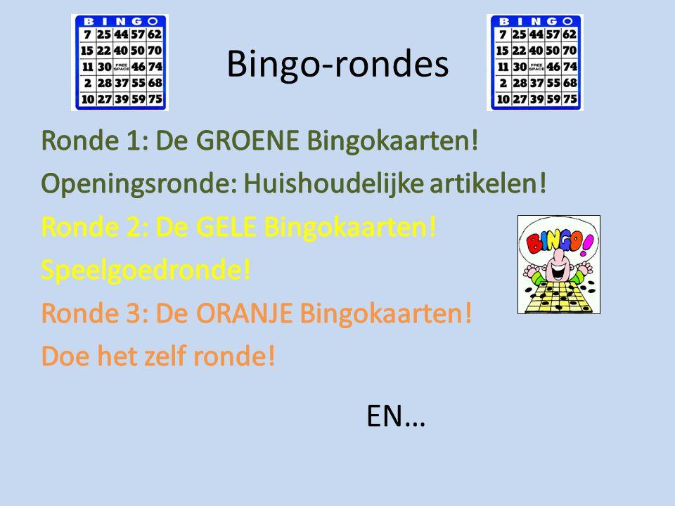 Bingo-rondes EN…