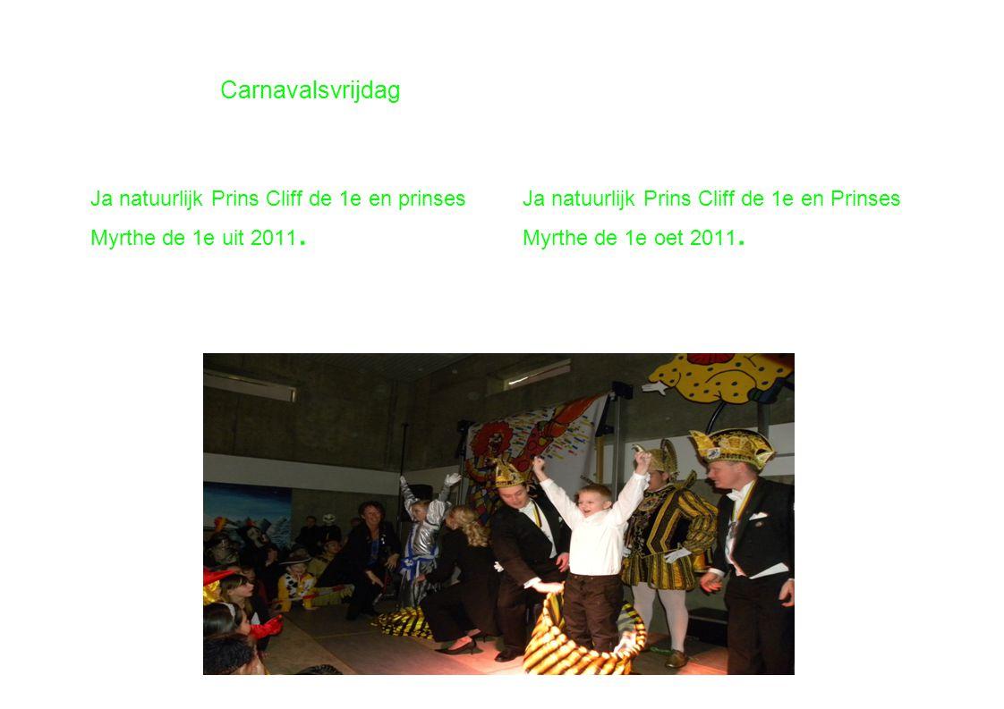 Carnavalsvrijdag De hele vrijdag is het nog een keigaaf feest geweest.
