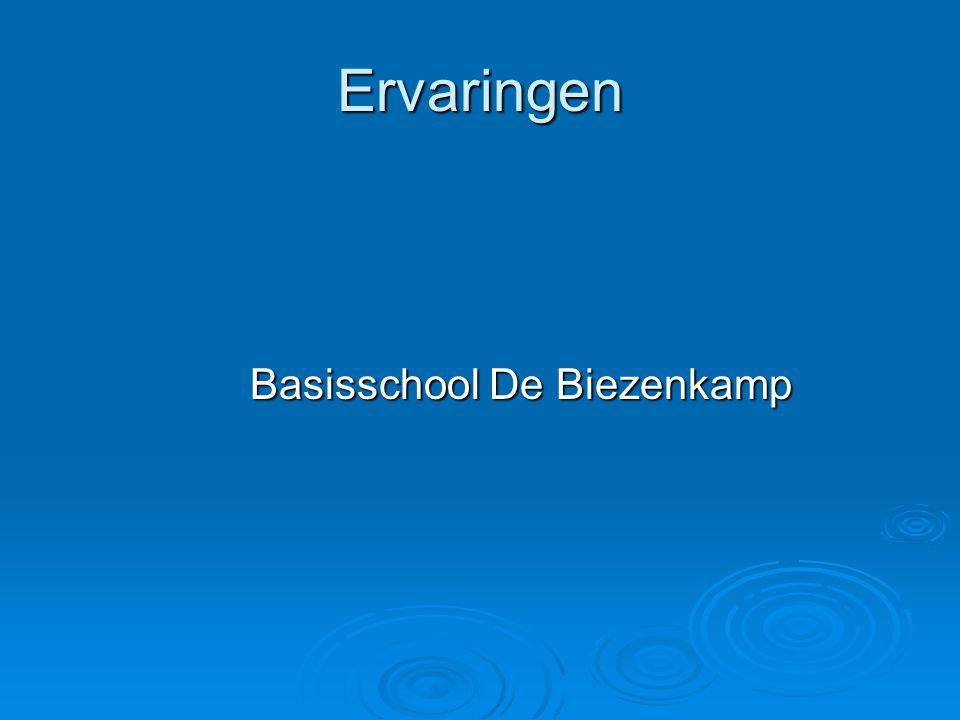 Ervaringen Basisschool De Biezenkamp