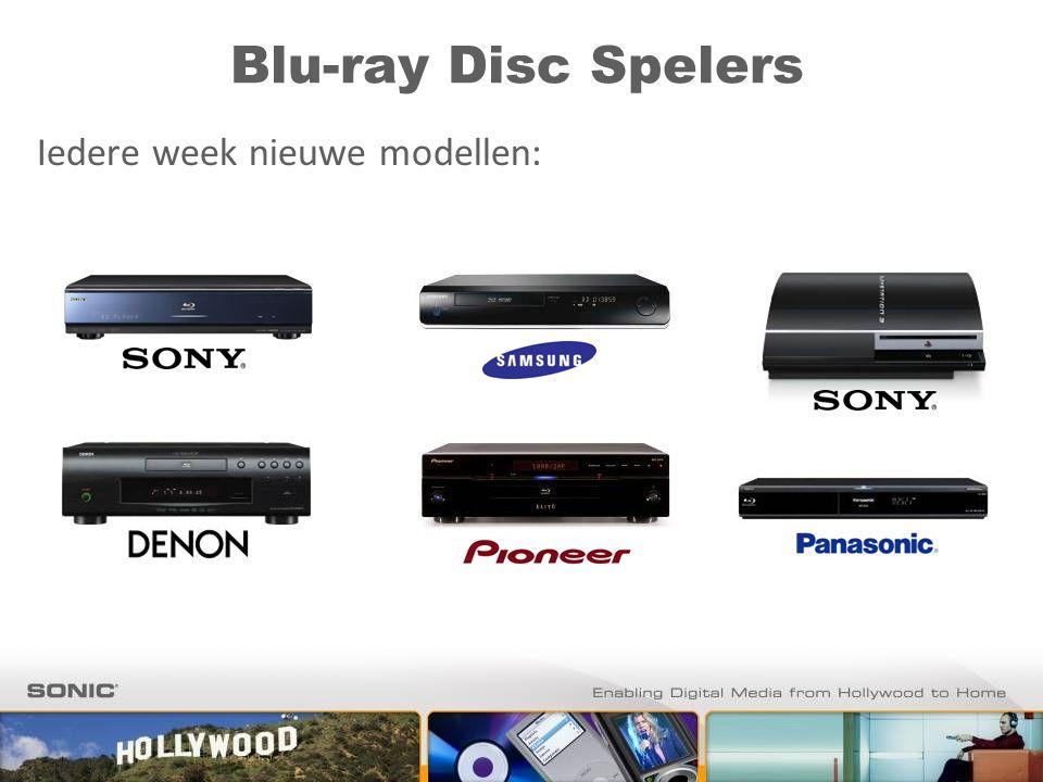 Blu-ray Disc Spelers Iedere week nieuwe modellen: