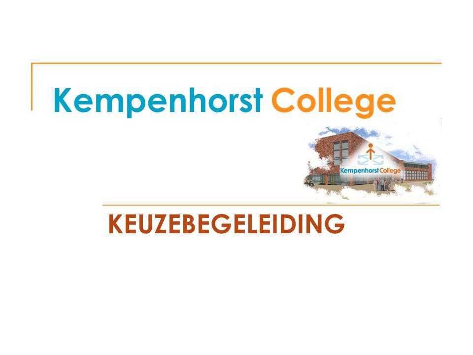 Kempenhorst College KEUZEBEGELEIDING