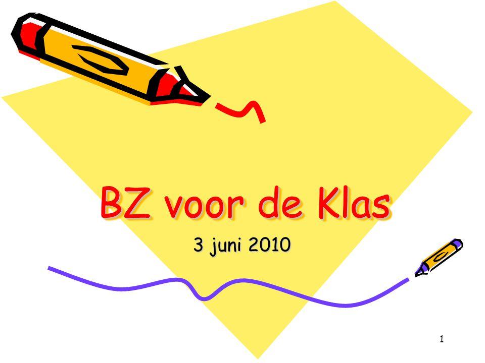 1 BZ voor de Klas 3 juni 2010