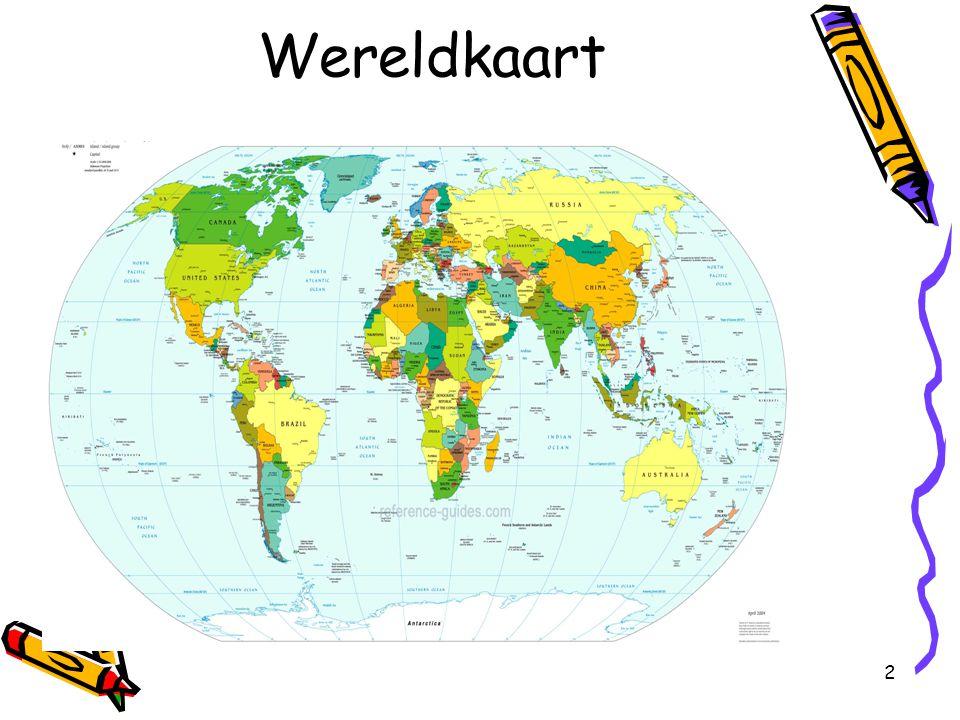 2 Wereldkaart