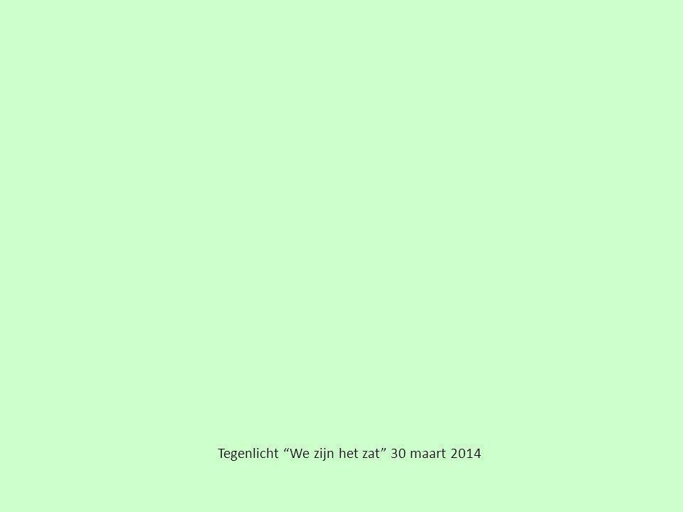 """Tegenlicht """"We zijn het zat"""" 30 maart 2014"""
