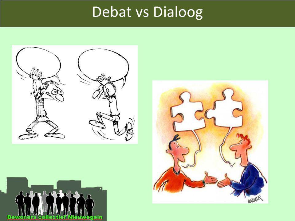Debat vs Dialoog