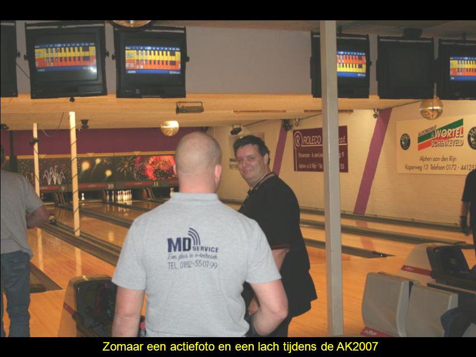 Zomaar een actiefoto en een lach tijdens de AK2007