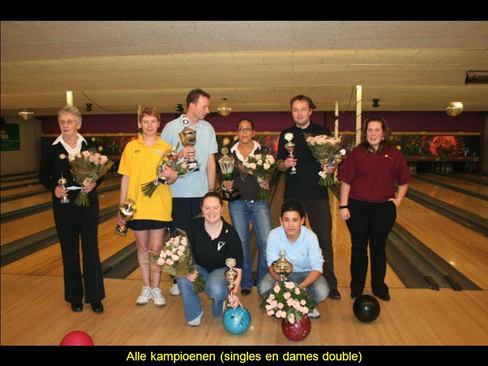 Alle kampioenen (singles en dames double)