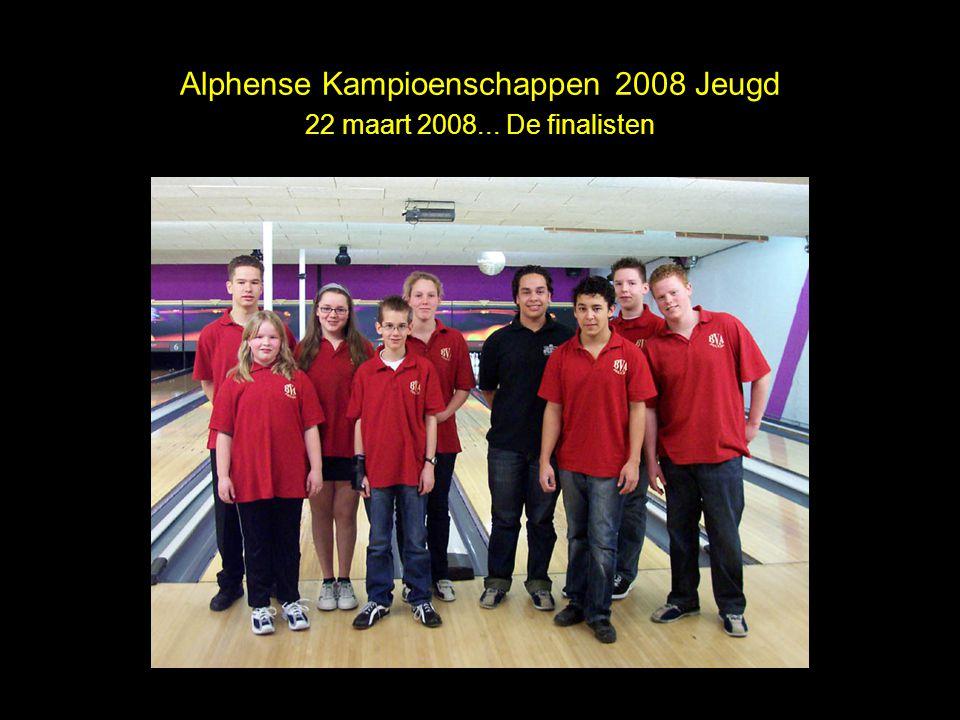 Alphense Kampioenschappen 2008 Jeugd 22 maart 2008... De finalisten