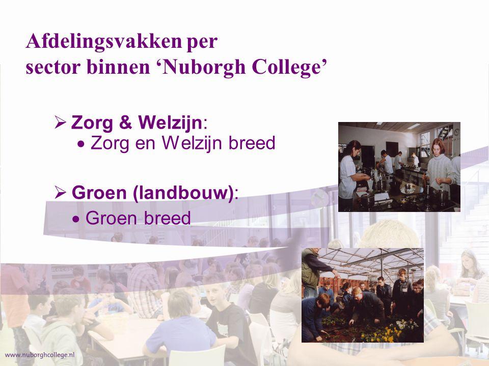  Economie:  Handel en Administratie Intersectoraal: Economie en Zorg&Welzijn  Dienstverlening & Commercie