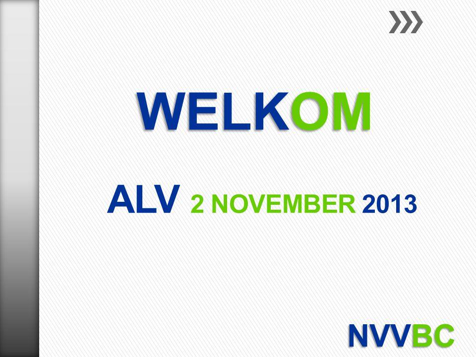 ALV 2 NOVEMBER 2013