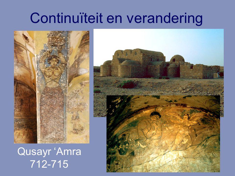 Continuïteit en verandering Qusayr 'Amra 712-715