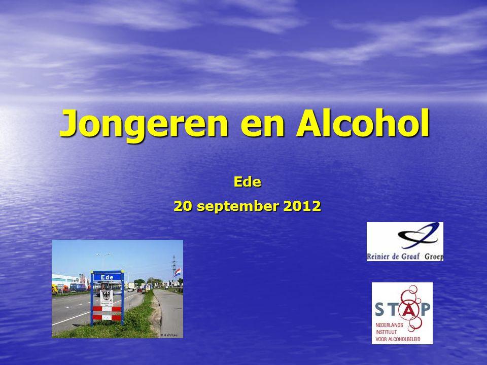 Jongeren en Alcohol Ede 20 september 2012