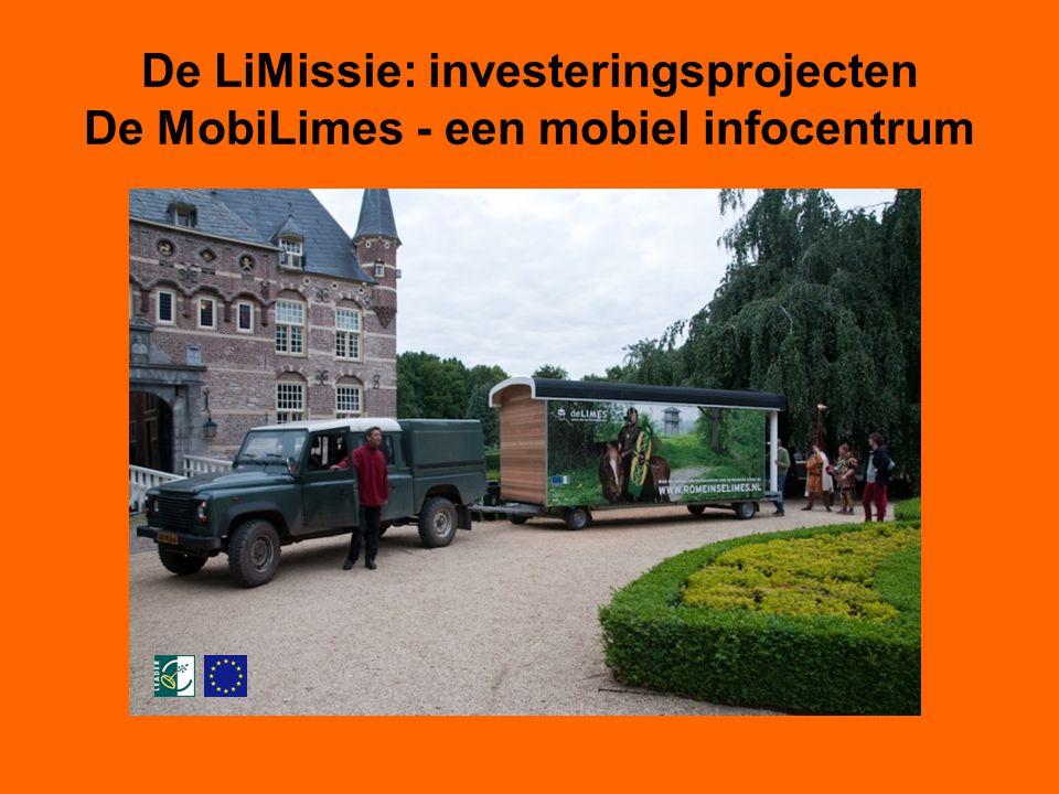 De LiMissie: investeringsprojecten De MobiLimes - een mobiel infocentrum