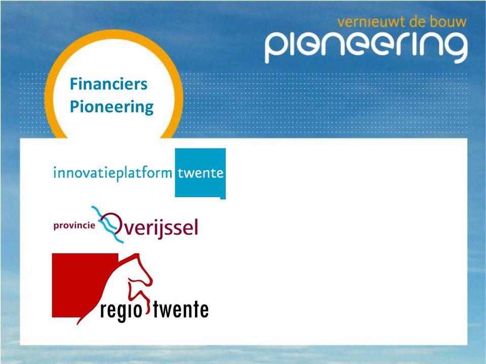Financiers Pioneering