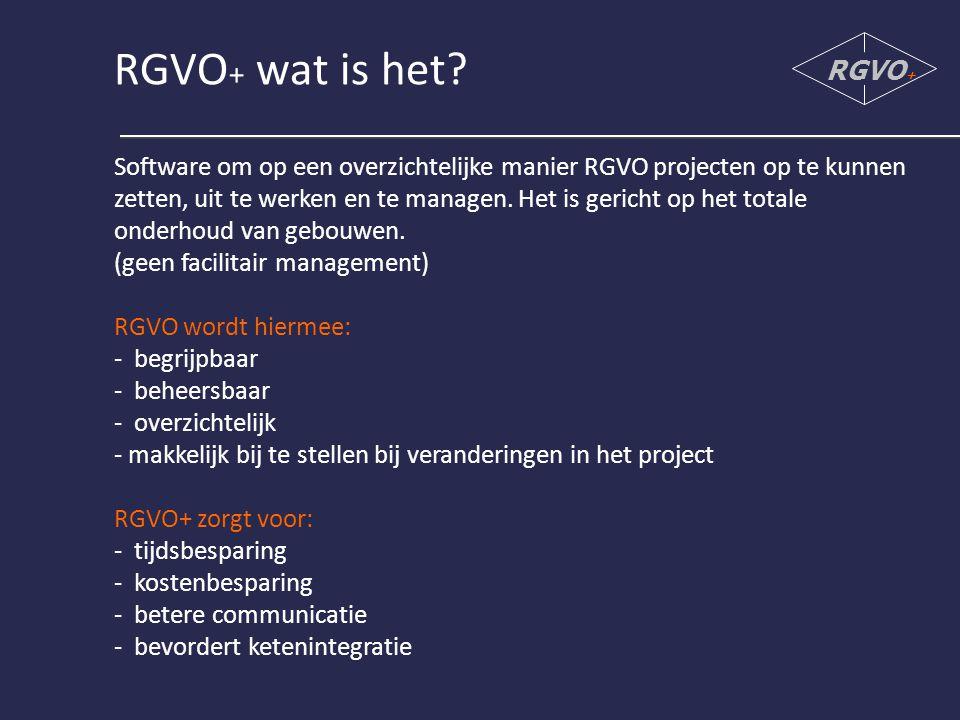 Stap 5: Inventariseren RGVO +