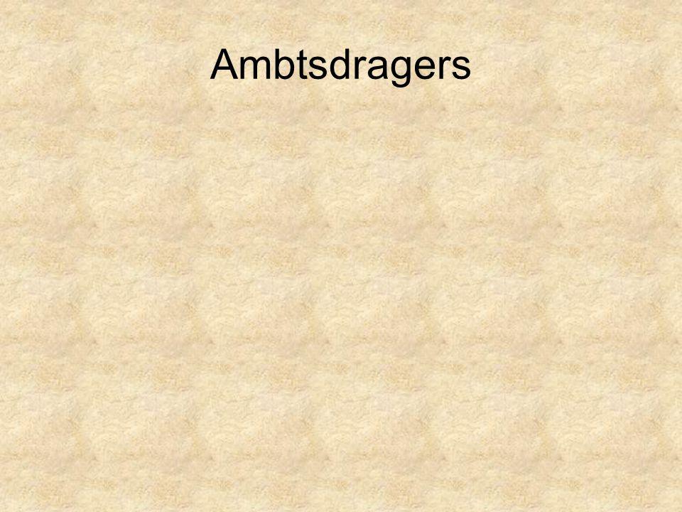Ambtsdragers