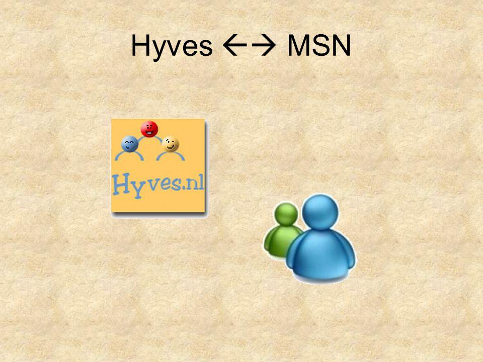 Hyves  MSN
