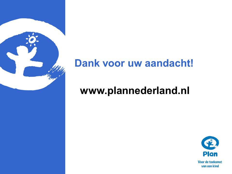 Dank voor uw aandacht! www.plannederland.nl