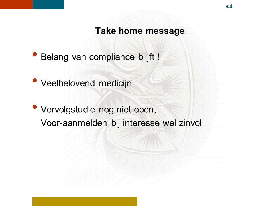 RP103 studie in Nederland Ervaringen van de 4 deelnemers ? Vragen aan de deelnemers ?