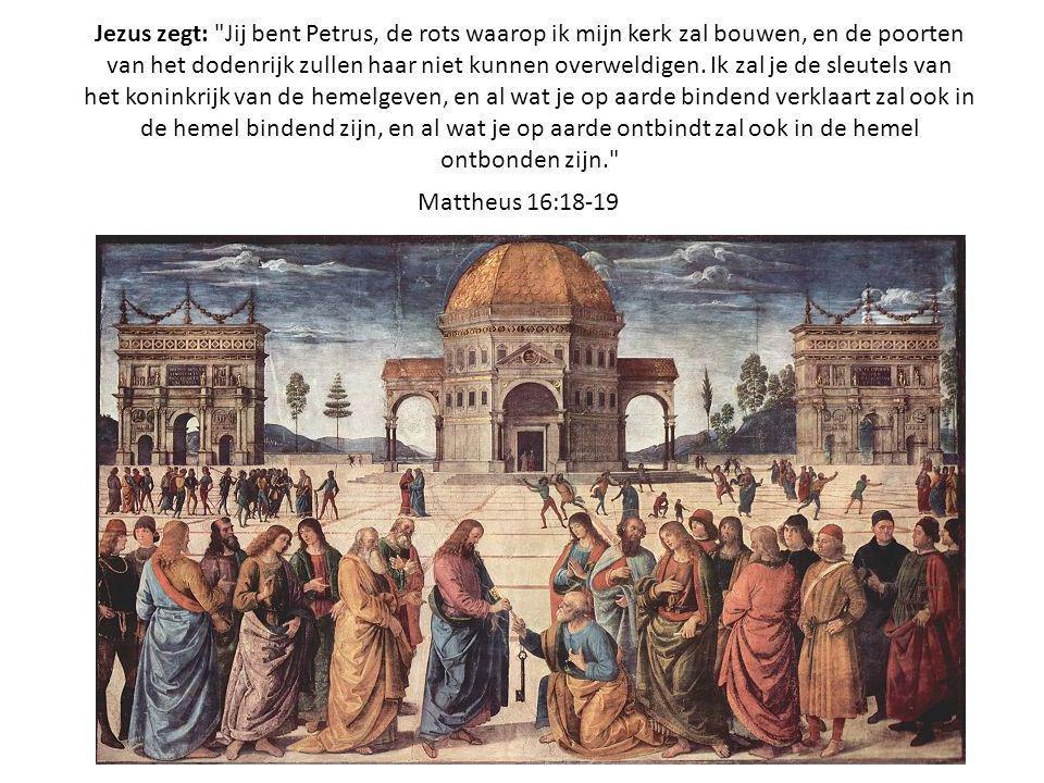 Jezus zegt: