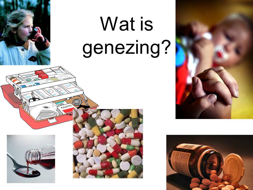Wat is genezing?