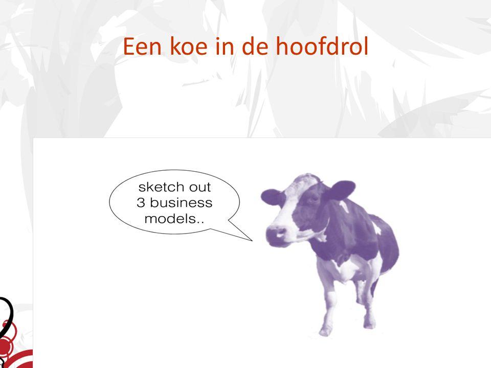 Een koe in de hoofdrol