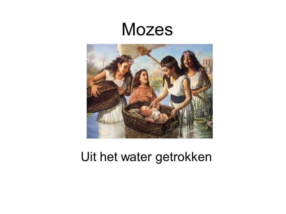Mozes Uit het water getrokken