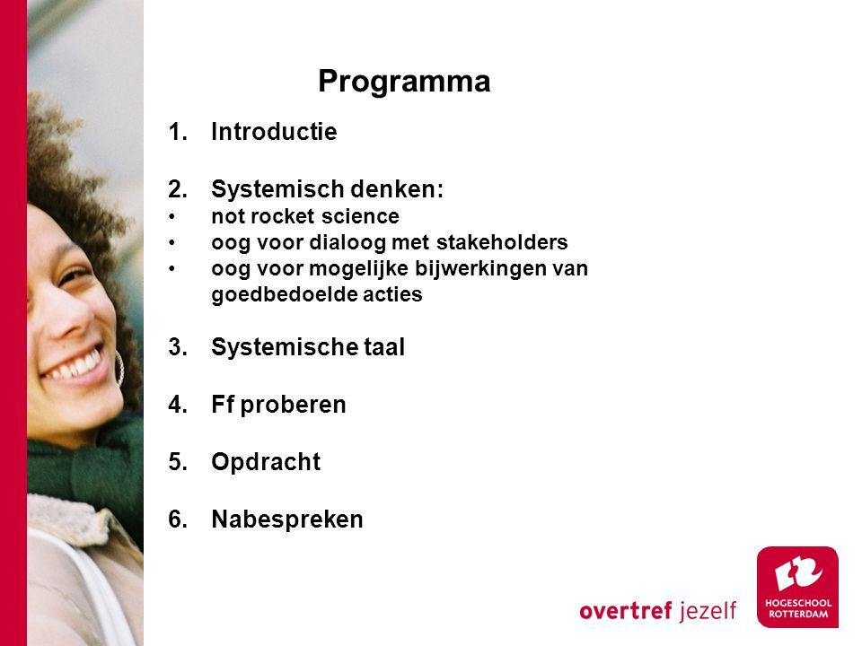 Programma 1.Introductie 2.